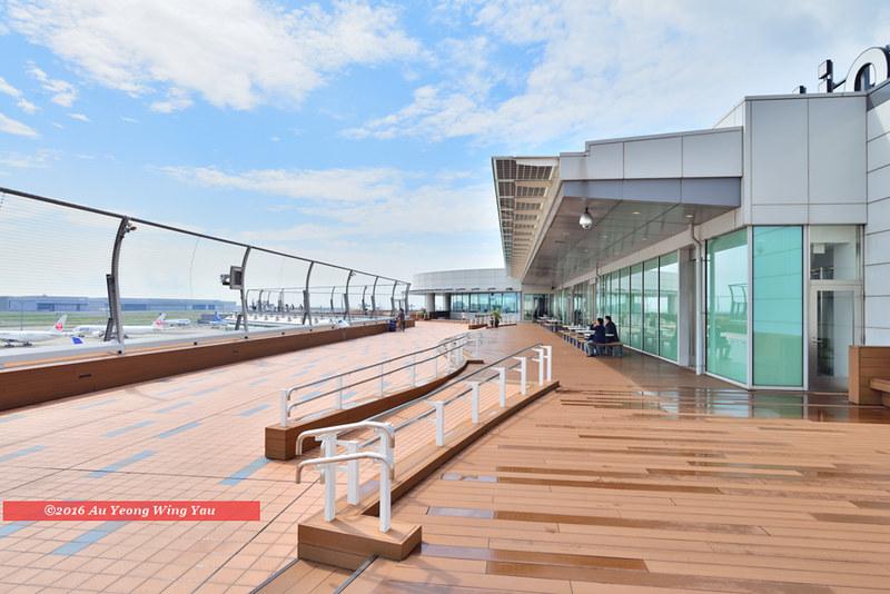 Tokyo 2016: Haneda Airport Outdoor Viewing Gallery