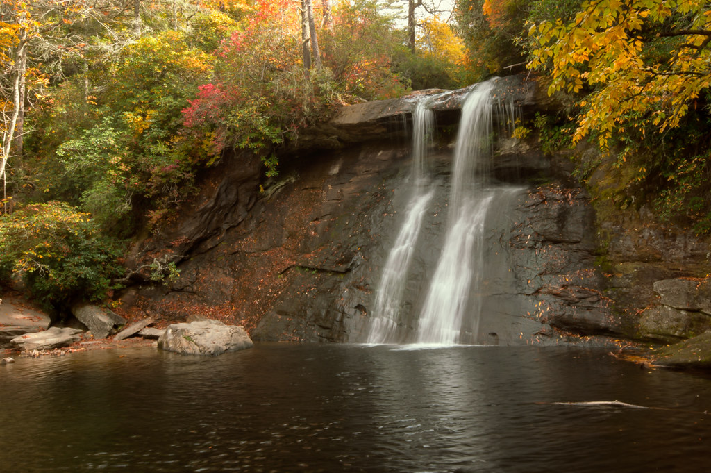 Lower Silver Run Falls (revisited)