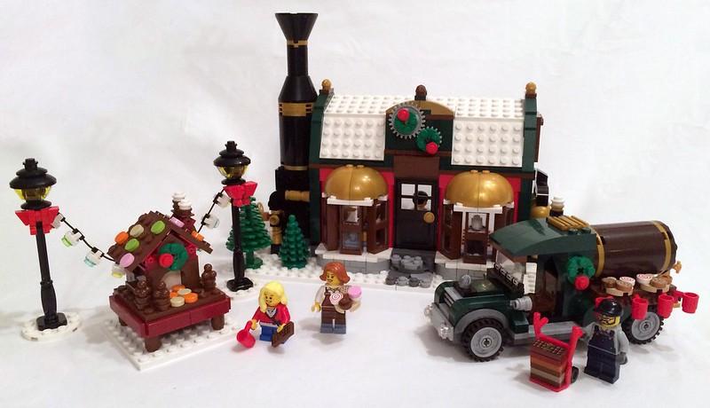 Winter Village Chocolate Factory