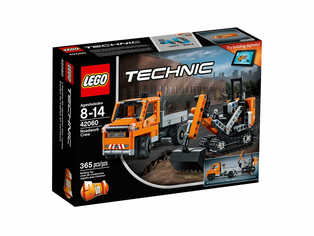 LEGO Technic 42060 - Roadwork Crew