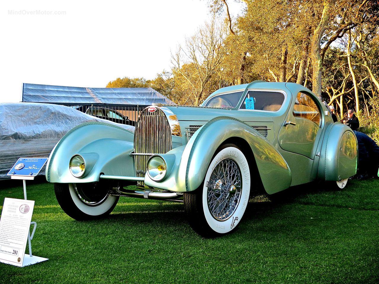 Bugatti Type 57 Aerolithe Amelia 1
