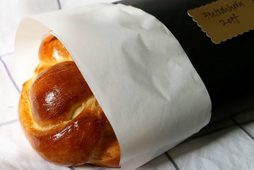 Butterzopf nach Markus Neff, Waldhotel Fletschhorn Saas Fee