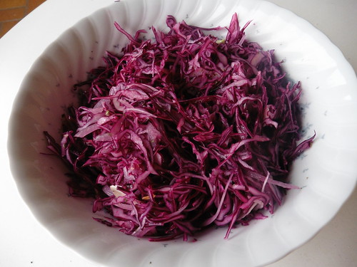 Rotkraut Salat