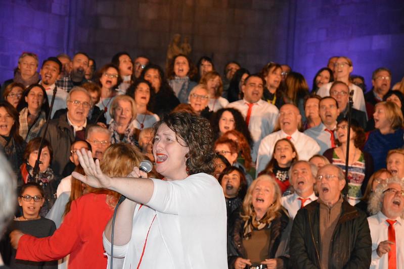 Concert del Cor Carlit Gospel a la Basílica de Santa Maria del Pi (25-11-2016)