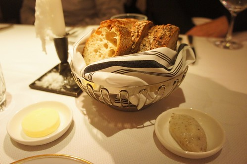 Bread Basket, Butter, and Lardo
