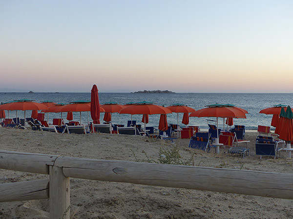 la plage en fin d'après-midi 1