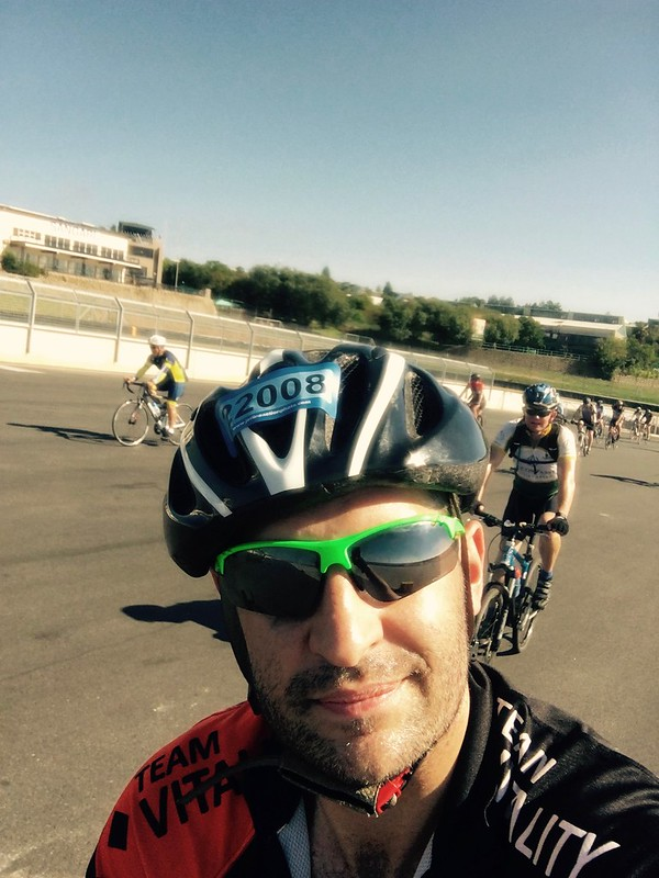 94.7 Telkom Cycle Challenge - On the Kyalami Track