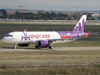 Hong Kong Express. First Airbus A320 NEO For The Company.