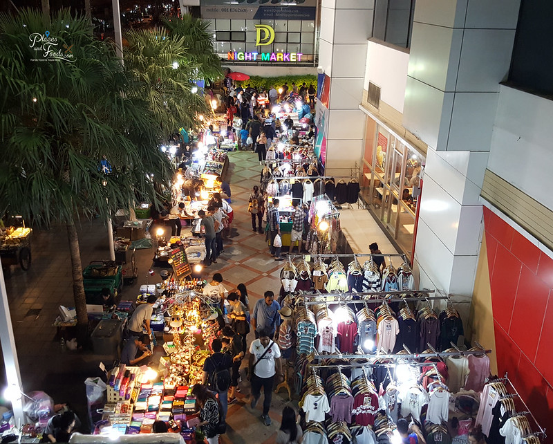 palladium night market top view