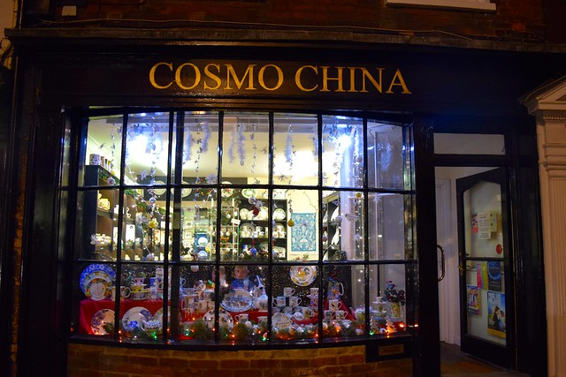 Cosmo China Christmas Windows 2016 | www.rachelphipps.com @rachelphipps