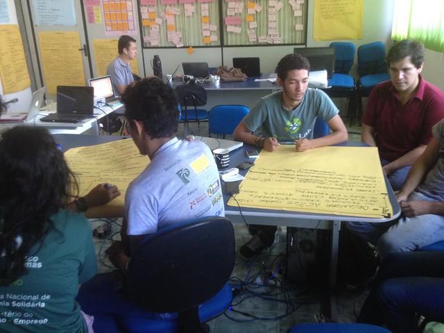 PalmasLab team during planning session
