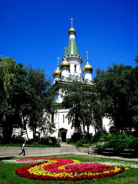 Iglesia Rusa de Sofia