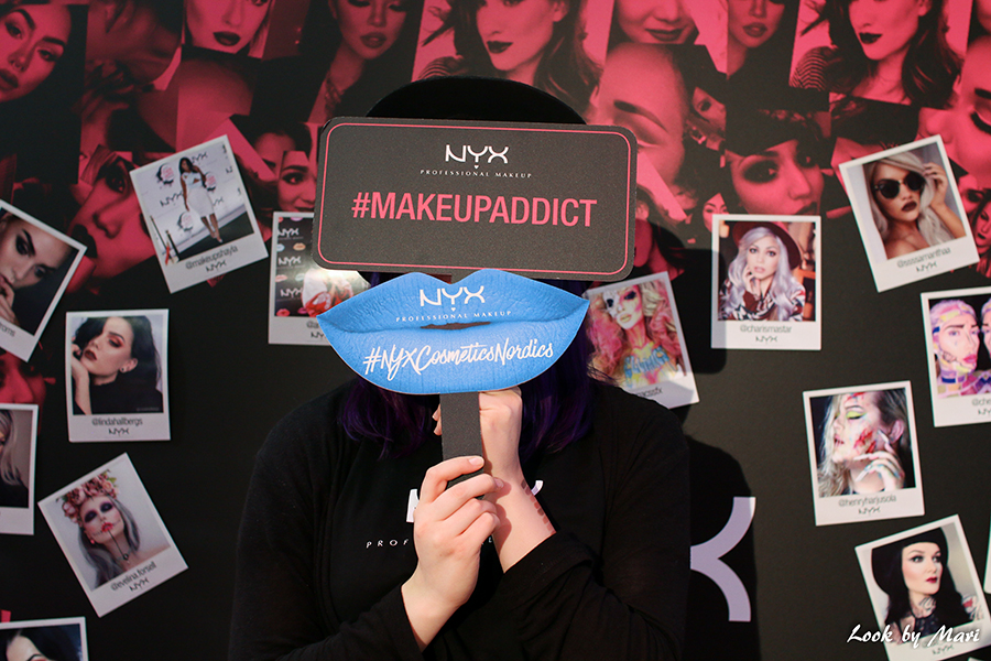 6 Nyx I love me messuilla messut fair booth stand