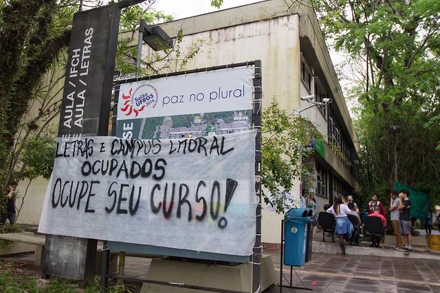 Ocupa Letras - UFRGS