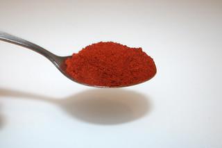 07 - Zutat geräuchertes Paprika / Ingredient smoked paprika