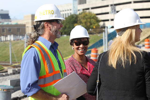 FTA Top Leader Tours Transit Project Sites