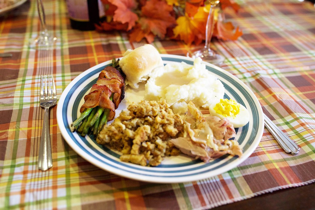 Thanksgiving Dinner Food