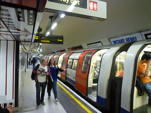 201406040 London subway station 'Leicester Square'