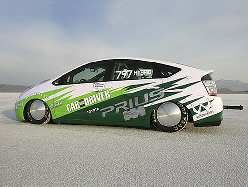 Toyota Prius Land Speed Car
