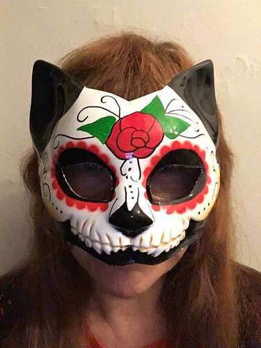 Dia De Los Muertos Kitty