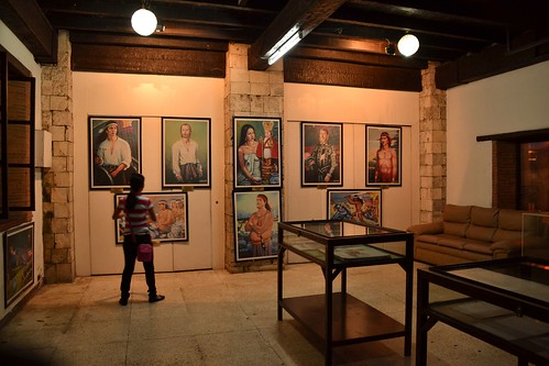 Exhibition Room D : Exhibition room historic paintings the tourist then