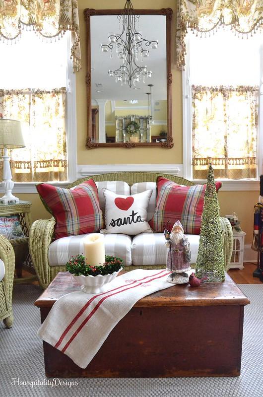 Christmas-Sunroom-Housepitality Designs