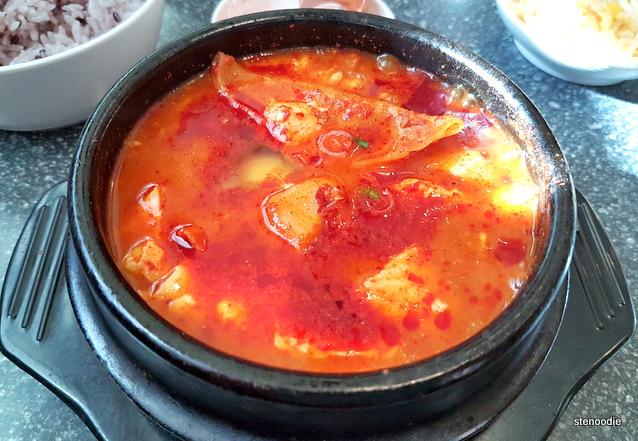 Dumpling Soon Tofu