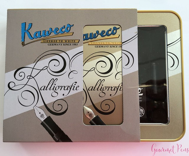 Video Review Kaweco Calligraphy Set - White @JetPens 6