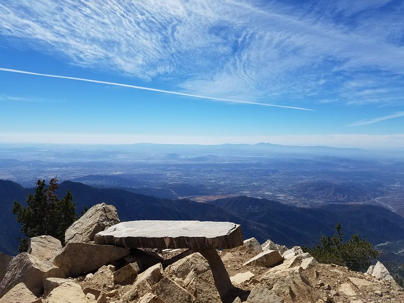 San Bernardino Peak • View of the Inland Empire