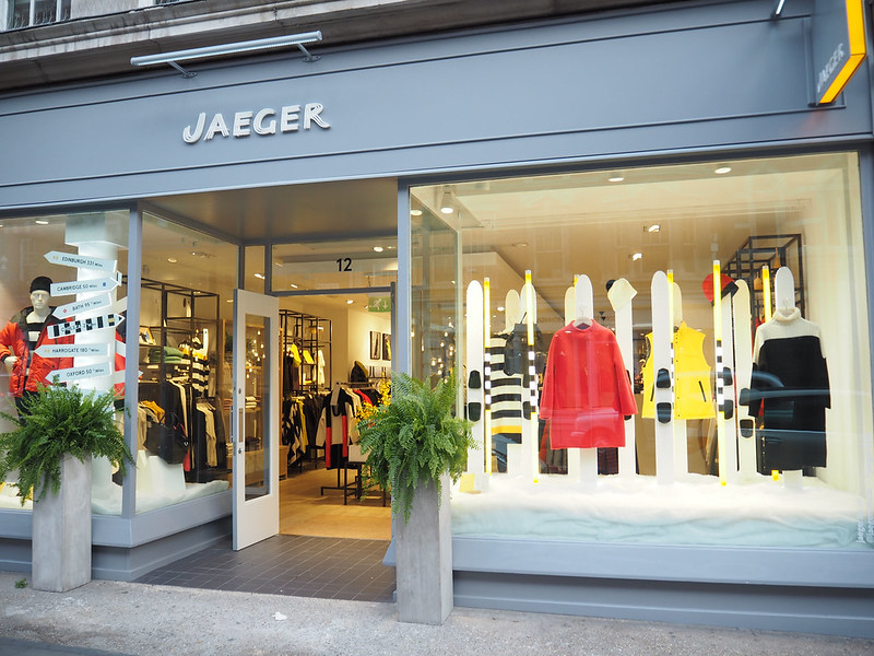 Jaeger store, Marylebone High Street, London