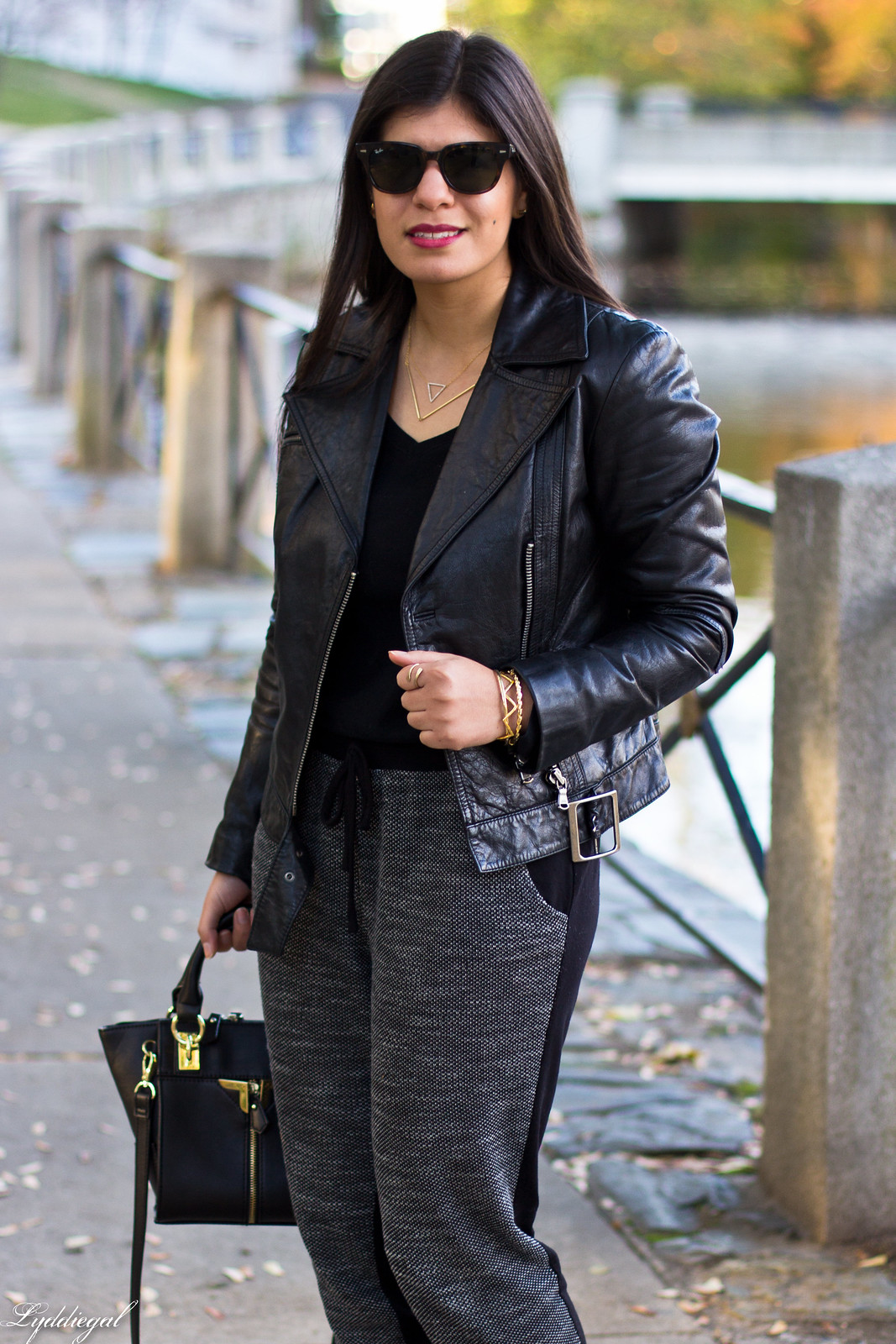 leather moto jacket, joggers, leopard pumps-4.jpg