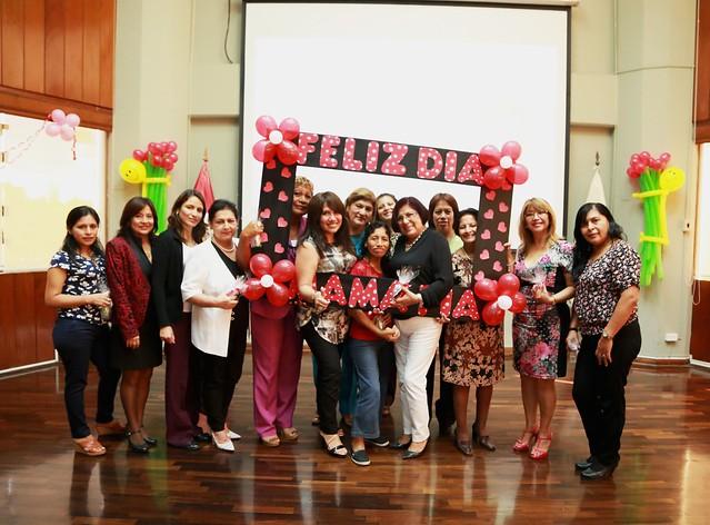 Campaña de Valores, día de la madre, celebración de fiestas  patrias, taller de  SST, Actividad Medio ambiental
