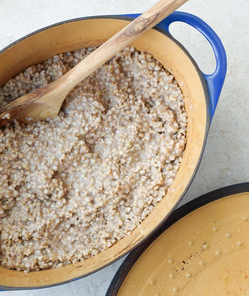Buckwheat & Steel Oats Breakfast Jars