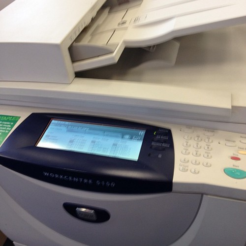 staples copy machine