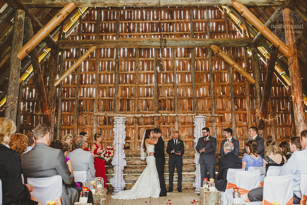 Huble Homestead Wedding Ceremony