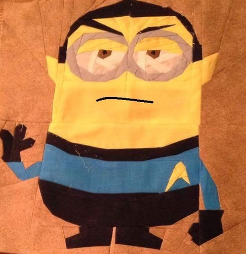 Minion Spock