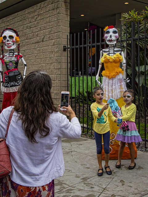4th Annual Downey Dia de los Muertos Art Festival kids