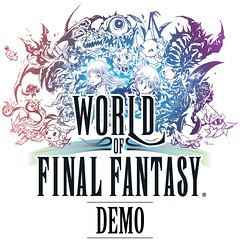 World of Final Fantasy Dungeon Demo