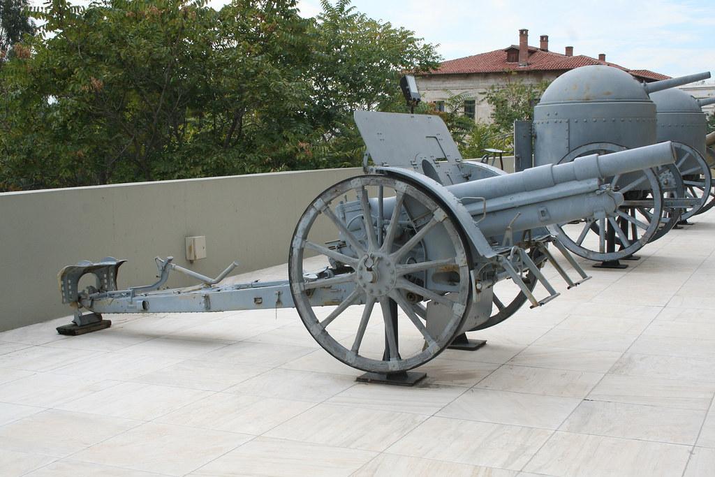 Skoda en el Museo de Guerra de Atenas, Grecia