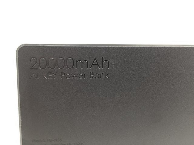 Test de la batterie AUKEY 20000 mAh PB-N36 - 20 000 mAh