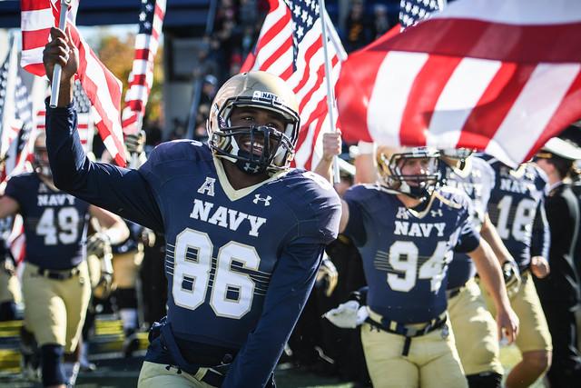 NCAAF Navy v Tulsa 036
