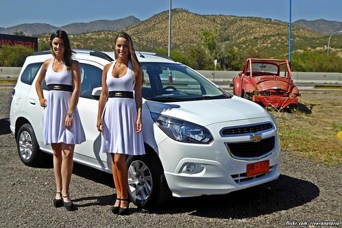 Chevrolet Spin - Lanzamiento en Chile