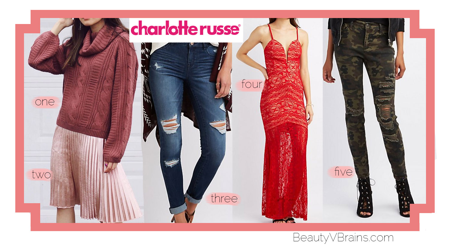 Charlotte Russe Cyber Monday discount code 2016