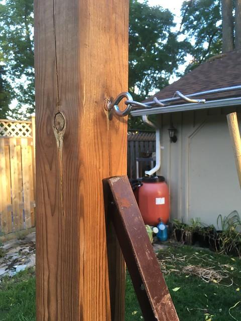 Espalier fence