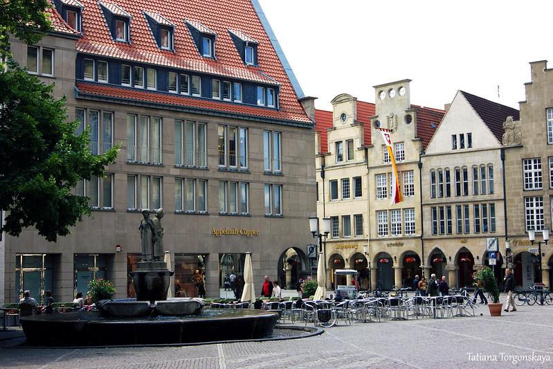 Вид на фонтан Ламберта