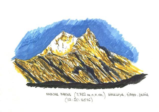 Namcha Barwa (7.782 m.s.n.m.)