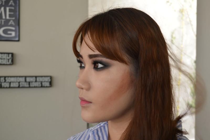 Countoring rostro cuadrado por Darinka Navarro para Odd Catrina