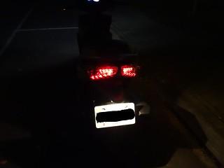 後方剎車燈