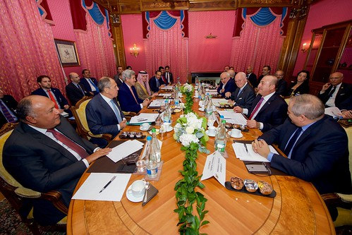 Secretary Kerry Meets with Key Regional Partners to Discuss Bringing About A Political Transition in Syria