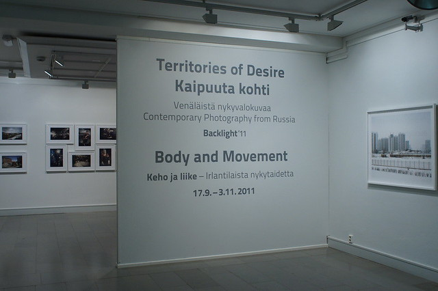 Exhibition at Backlight-2011: Territories of Desire